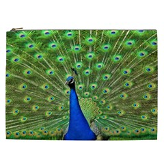 Bird Peacock Cosmetic Bag (xxl)