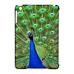 Bird Peacock Apple Ipad Mini Hardshell Case (compatible With Smart Cover)