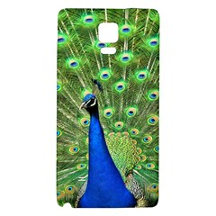 Bird Peacock Galaxy Note 4 Back Case by AnjaniArt