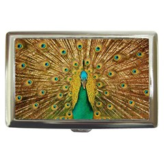 Bird Peacock Feathers Cigarette Money Cases