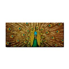 Bird Peacock Feathers Hand Towel