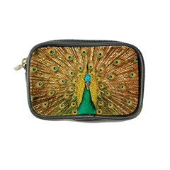 Bird Peacock Feathers Coin Purse