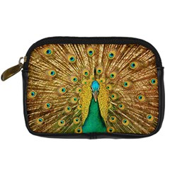 Bird Peacock Feathers Digital Camera Cases