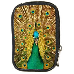 Bird Peacock Feathers Compact Camera Cases