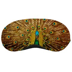 Bird Peacock Feathers Sleeping Masks