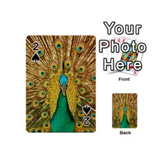 Bird Peacock Feathers Playing Cards 54 (mini)