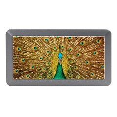 Bird Peacock Feathers Memory Card Reader (mini)