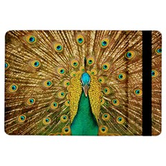 Bird Peacock Feathers Ipad Air Flip by AnjaniArt