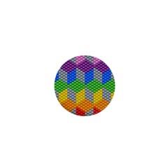 Block Pattern Kandi Pattern 1  Mini Buttons by AnjaniArt
