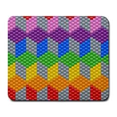 Block Pattern Kandi Pattern Large Mousepads
