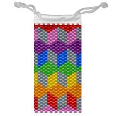 Block Pattern Kandi Pattern Jewelry Bags