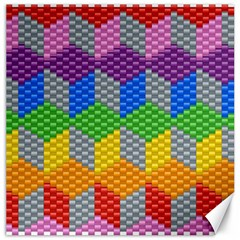 Block Pattern Kandi Pattern Canvas 20  X 20