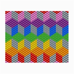 Block Pattern Kandi Pattern Small Glasses Cloth (2 Side)