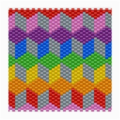 Block Pattern Kandi Pattern Medium Glasses Cloth (2 Side)