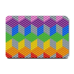 Block Pattern Kandi Pattern Small Doormat
