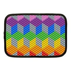 Block Pattern Kandi Pattern Netbook Case (medium)