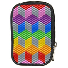 Block Pattern Kandi Pattern Compact Camera Cases