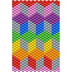 Block Pattern Kandi Pattern 5 5  X 8 5  Notebooks