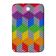 Block Pattern Kandi Pattern Samsung Galaxy Note 8 0 N5100 Hardshell Case  by AnjaniArt
