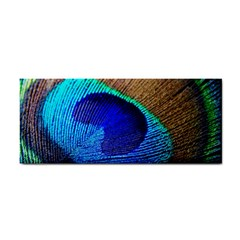 Blue Peacock Hand Towel