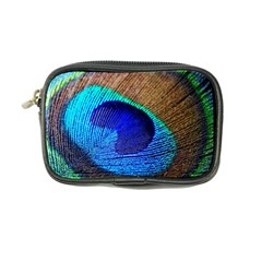 Blue Peacock Coin Purse