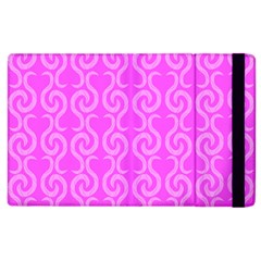Pink Elegant Pattern Apple Ipad 3/4 Flip Case by Valentinaart