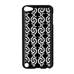 Black And White Pattern Apple Ipod Touch 5 Case (black) by Valentinaart