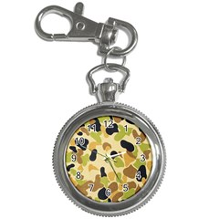 Camouflage Pattern Army Key Chain Watches by AnjaniArt