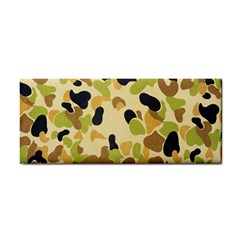 Camouflage Pattern Army Hand Towel by AnjaniArt