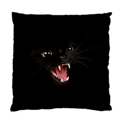 Cat Animal Cute Standard Cushion Case (one Side) by AnjaniArt