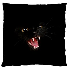 Cat Animal Cute Large Flano Cushion Case (two Sides) by AnjaniArt