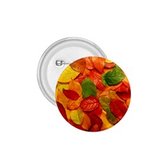 Colorful Fall Leaves 1 75  Buttons by AnjaniArt