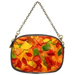 Colorful Fall Leaves Chain Purses (One Side)  Front