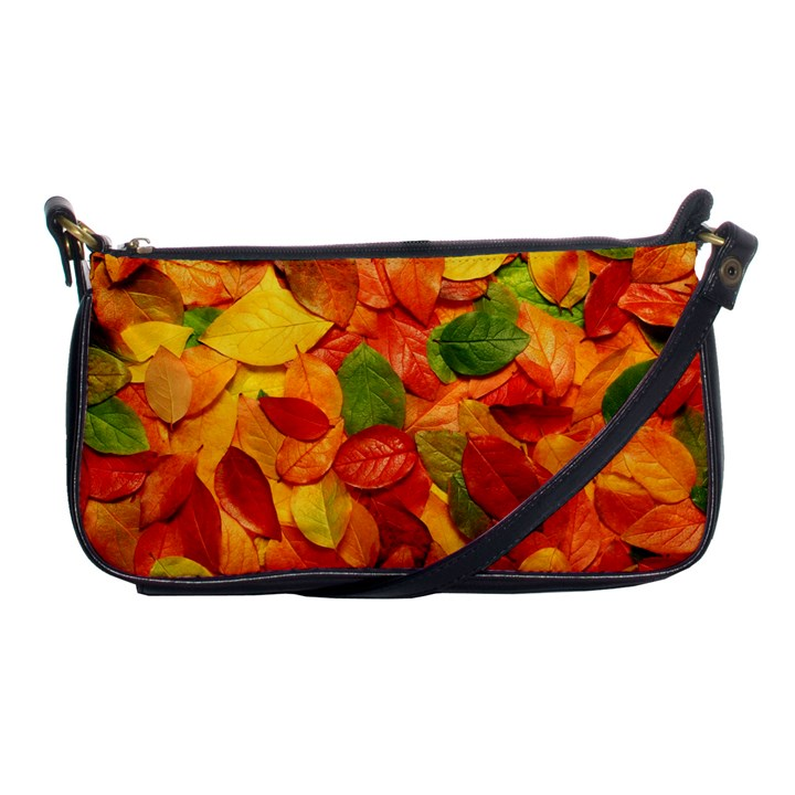 Colorful Fall Leaves Shoulder Clutch Bags