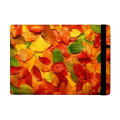 Colorful Fall Leaves Ipad Mini 2 Flip Cases by AnjaniArt