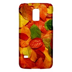 Colorful Fall Leaves Galaxy S5 Mini by AnjaniArt