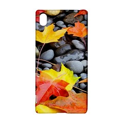 Colorful Leaves Stones Sony Xperia Z3+ by AnjaniArt
