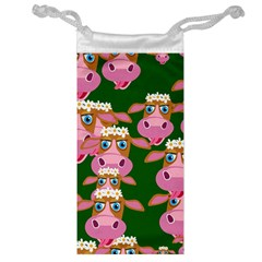 Cow Pattern Jewelry Bags