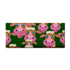 Cow Pattern Hand Towel