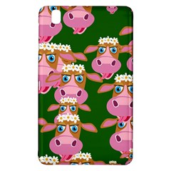 Cow Pattern Samsung Galaxy Tab Pro 8 4 Hardshell Case by AnjaniArt