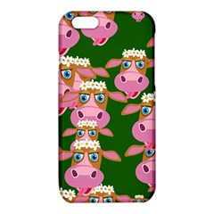 Cow Pattern iPhone 6/6S TPU Case by AnjaniArt