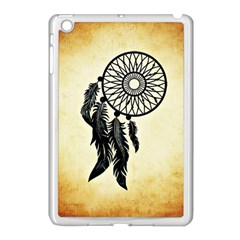 Dream Catcher Apple Ipad Mini Case (white) by AnjaniArt