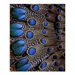 Feathers Peacock Light Shower Curtain 60  X 72  (medium)  by AnjaniArt