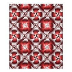 Floral Optical Illusion Shower Curtain 60  X 72  (medium)  by AnjaniArt