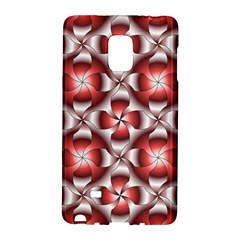 Floral Optical Illusion Galaxy Note Edge by AnjaniArt