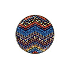 Cute Hand Drawn Ethnic Pattern Hat Clip Ball Marker (10 Pack) by AnjaniArt