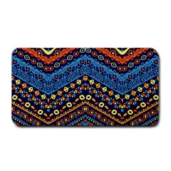 Cute Hand Drawn Ethnic Pattern Medium Bar Mats by AnjaniArt