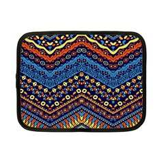 Cute Hand Drawn Ethnic Pattern Netbook Case (small)  by AnjaniArt