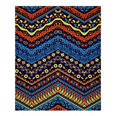 Cute Hand Drawn Ethnic Pattern Shower Curtain 60  X 72  (medium)  by AnjaniArt