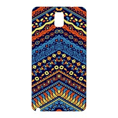 Cute Hand Drawn Ethnic Pattern Samsung Galaxy Note 3 N9005 Hardshell Back Case by AnjaniArt